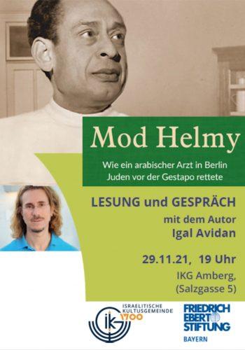 Mod Helmy - Lesung und Gespräch mit Igal Avidan